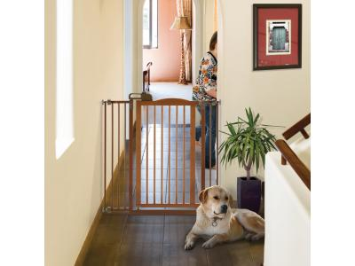 Richell Tall One-Touch Pet Gate II - Autumn Matte - 94930