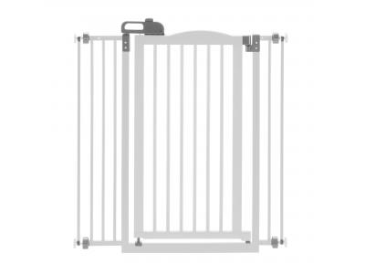 Richell Tall One-Touch Pet Gate II - Origami White - 94931