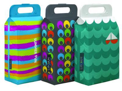Koolit Summer Collapsible Cooler Bag Case Pack 12 Sales