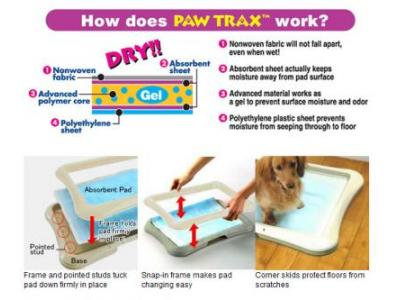 Richell Paw Trax Super Absorbent Doggy Pads 50ct - 94542