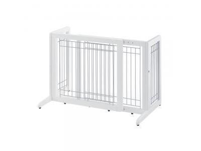 Richell Freestanding Pet Gate Small - Origami White  - 94156