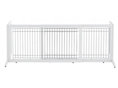 Richell Freestanding Pet Gate Large - Origami White  - 94157