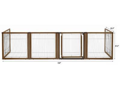 Richell Convertible Elite 6-Panel Pet Gate - 94171
