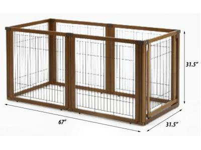 Richell Convertible Elite 6-Panel Pet Gate - 94171
