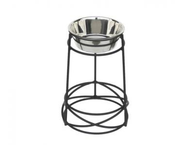 Pets Stop RSB5S Mesh Single Diner Large - 15'' Tall - RSB5S