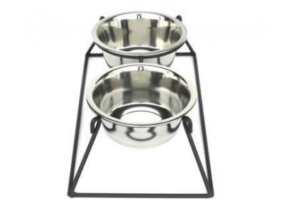 Pets Stop RDB2M Pyramid Double Diner Medium - RDB2M