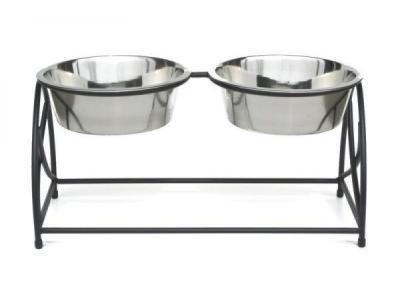 Pets Stop RDB7L Butterfly Double Diner Large - RDB7L
