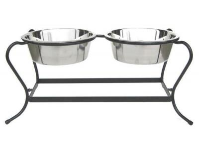 Pets Stop RDB12L Majesty Double Diner Large - RDB12L