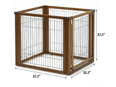 Richell Convertible Elite 4-Panel Pet Gate  - 94170