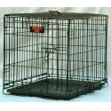 Majestic Pet 42'' Single Door Folding Dog Crate - Large - 01142