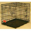 Majestic Pet 30'' Double Door Folding Dog Crate - Medium - 01230