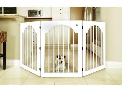 Majestic Pet Freestanding Pet Gate - White - 04111