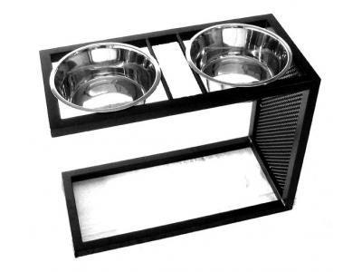 Pets Stop Cantilever Double Diner - X-Large - RDB16XL