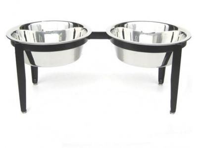 Pets Stop Vision Indoor/Outdoor Double Diner - Medium - RDB17M