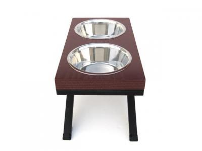 Pets Stop Woodsman Double Diner - Large - RDB20L